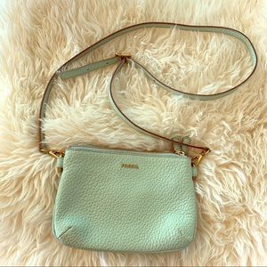 Fossil crossbody purse - seafoam